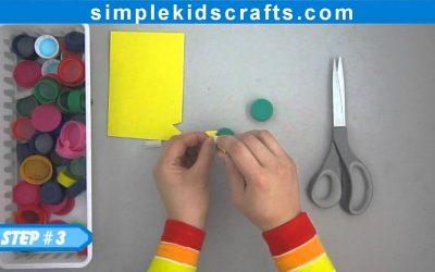 Cómo hacer un tampón de foamy para estampar formas (videotutorial)