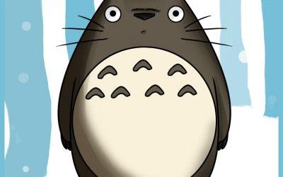 Mi vecino Totoro en foamy, plantilla para descargar