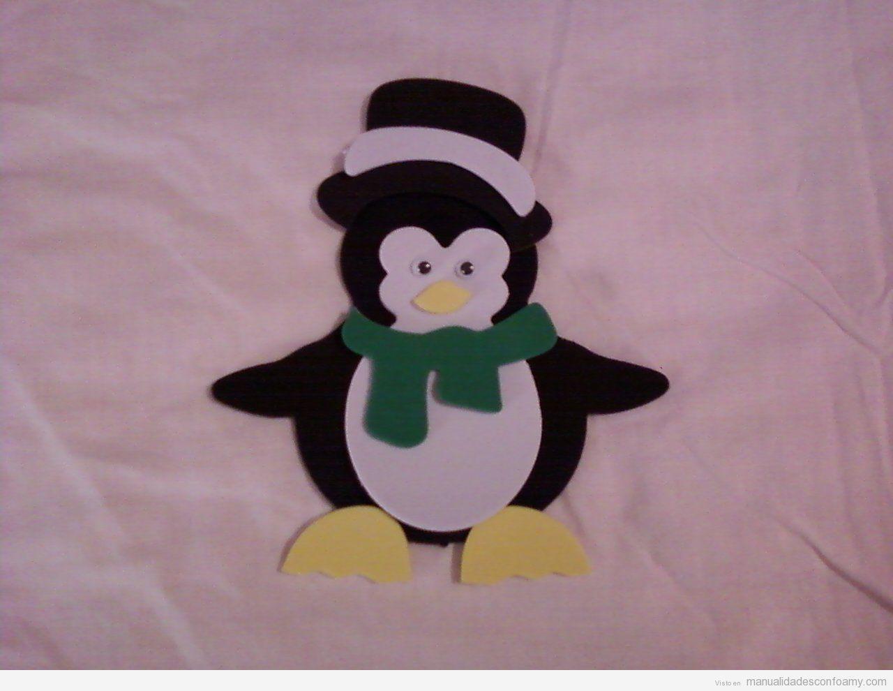 Pinguinos De Goma Eva