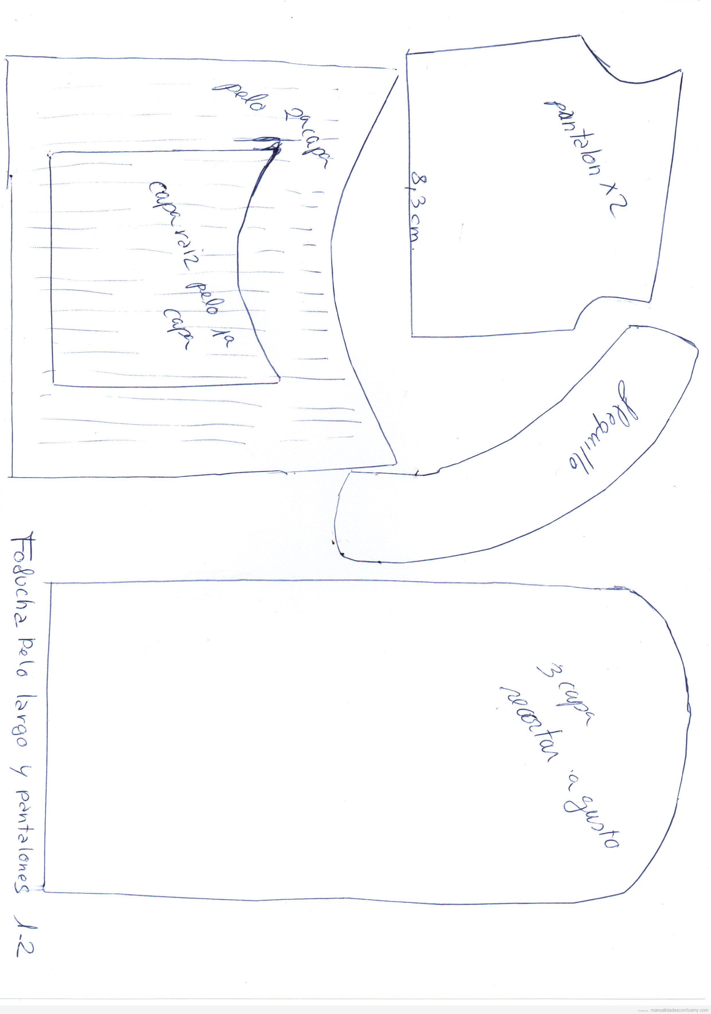 Muñeca goma eva archivos • Manualidades con Foamy