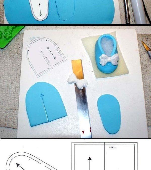 zapato de goma eva para muñecas tutorial y plantilla manualidades
