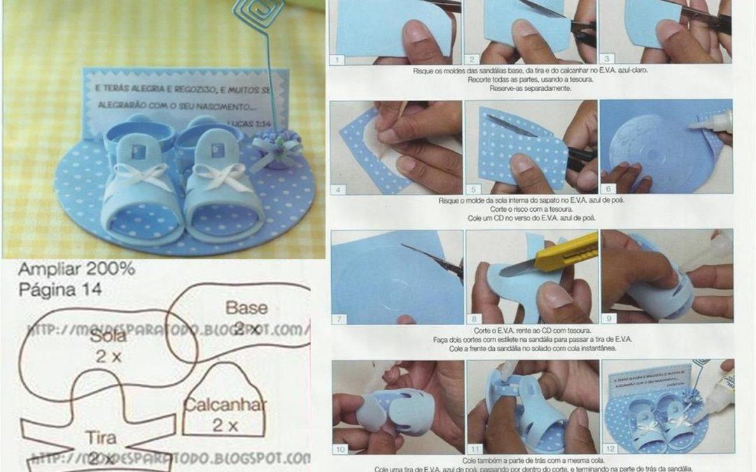 Zapatos archivos manualidades con foamy for Construir piscina natural paso a paso