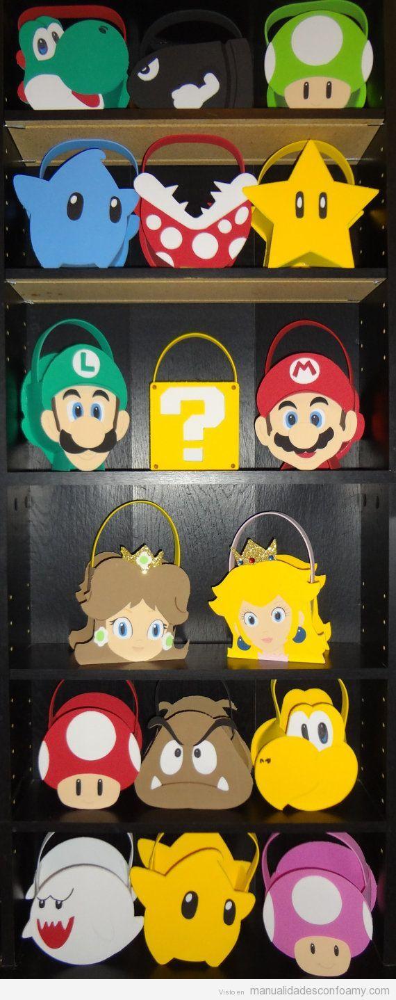 Manualidades De Mario Bros