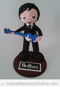 Muñeco fofucho de goma eva, The Beatles