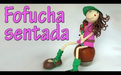 Cómo hacer una muñeca Fofucha sentada, vídeo paso a paso