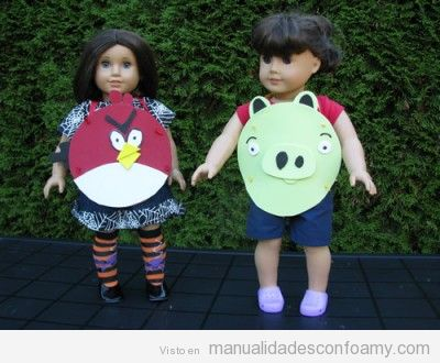 Disfraces Fáciles De Angry Birds En Goma Eva Manualidades