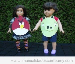 Disfraz Angry Birds en foamy
