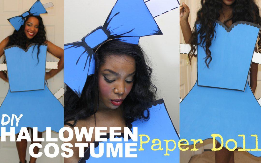 Cómo hacer un disfraz muy fácil para Halloween con goma eva (videotutorial)