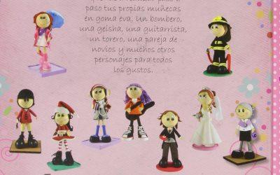 Libro con 100 proyectos de muñecas Fofuchas