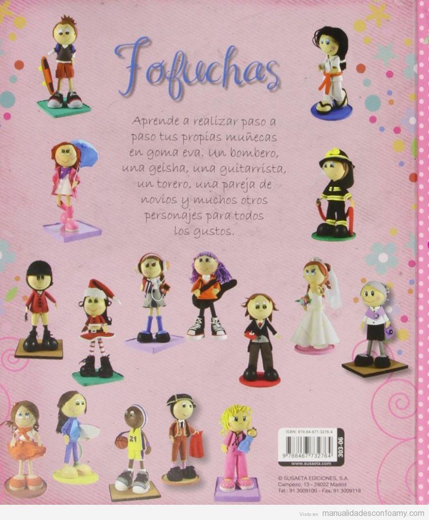 Libro con 100 Fofuchas con patrones y moldes, comprar online 2