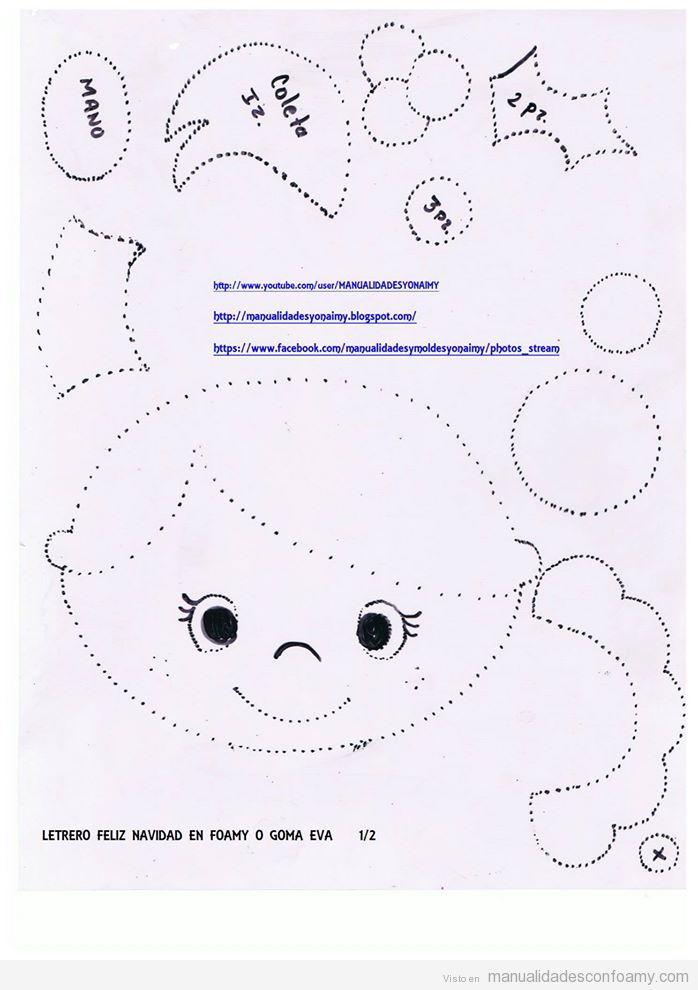 Plantillas y Moldes archivos • Página 3 de 11 • Manualidades con Foamy