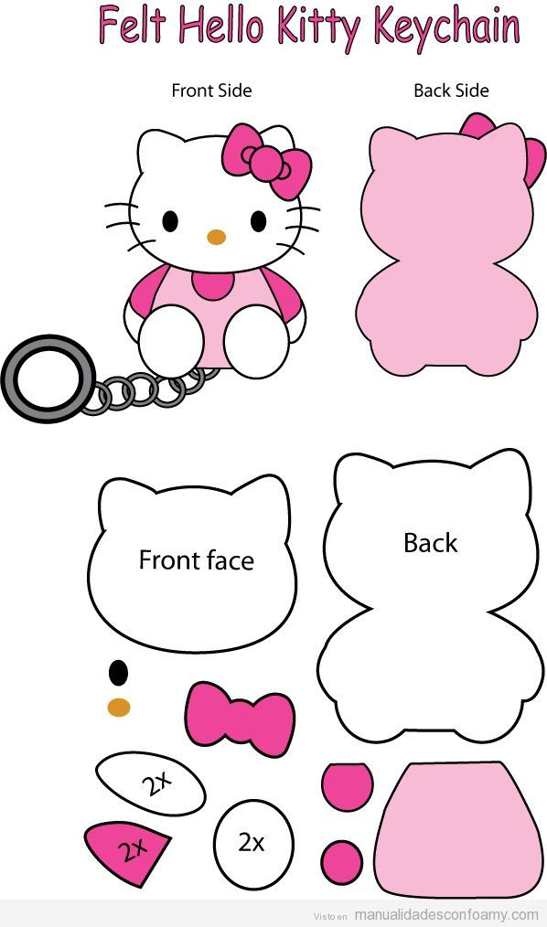Hello Kitty archivos • Manualidades con Foamy