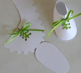 Tutorial patuco goma eva, detalle DIY perfecto para un bautizo o un babyshower