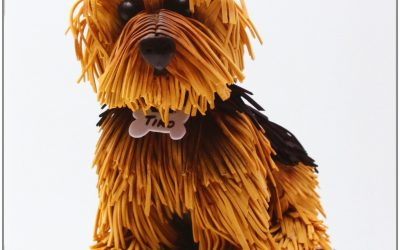 Manual para aprender a hacer muñecos de goma eva con forma de perro por 6'55€