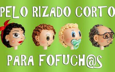 Cómo hacer pelo corto rizado para muñecas Fofucha
