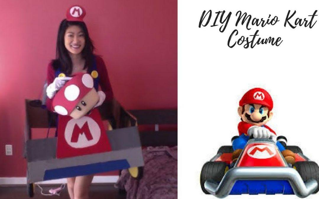 Cómo hacer un disfraz de Mario Kart con cartón y goma eva (Vídeo)