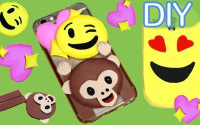 Vídeo para aprender a hacer una carcasa de goma eva para móvil con emojis ^_^