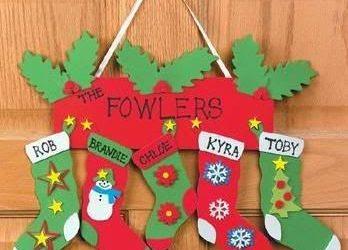 Ideas Tutoriales Y Moldes De Objetos De Decoracion En Foamy - Adornos-navidad-infantiles