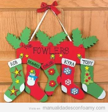 Adornos de Navidad de foamy fáciles