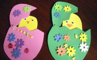5 Manualidades con goma eva de Pascua para hacer con niños
