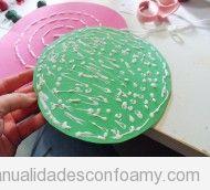 Bolso de goma eva con forma de sandía, tutorial paso a paso muy fácil para hacer con niños