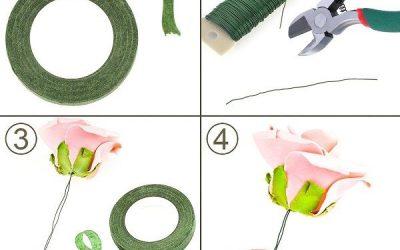 Cómo hacer una diadema con flores de goma eva, el accesorio perfecto para verano