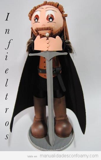 Muñeco Fofucho Ned Stark