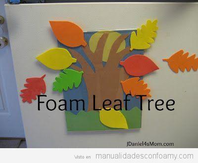 Manualidades otoño para niños, árbol 2