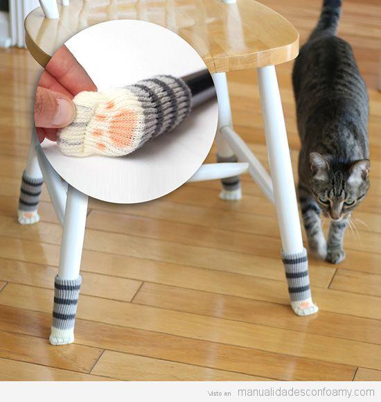 Calcetines patas mesa proteger suelos parquet