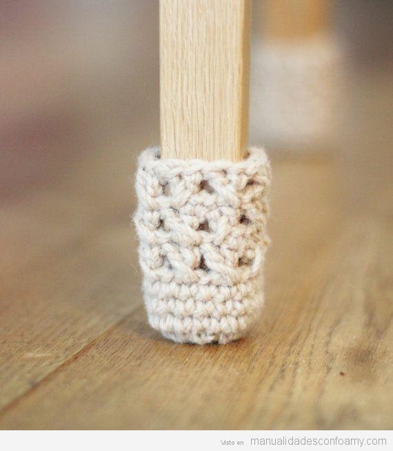 Calcetines patas mesa proteger suelos parquet 2