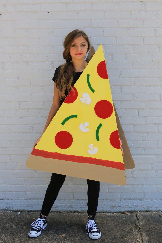 Disfraces Carnaval de goma eva, pizza