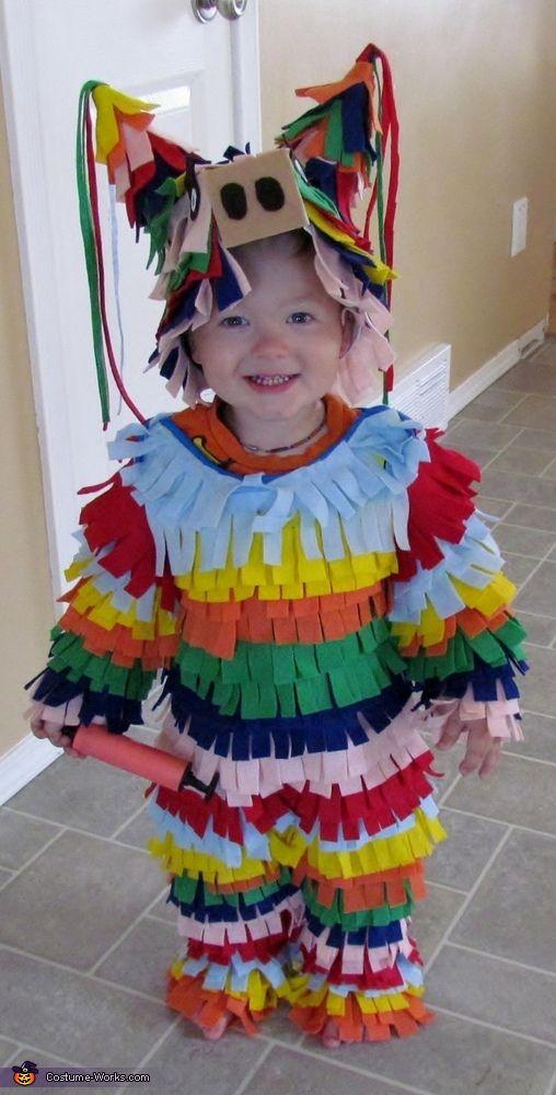Disfraces Carnaval de goma eva, piñata humana 2