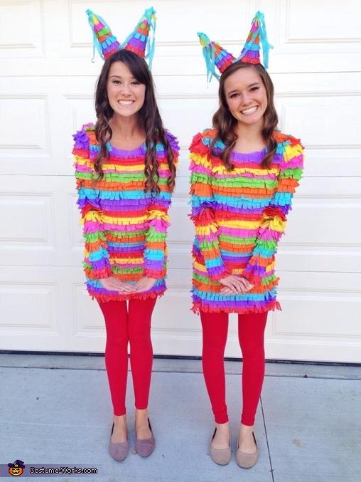 Disfraces Carnaval de goma eva, piñata humana 3
