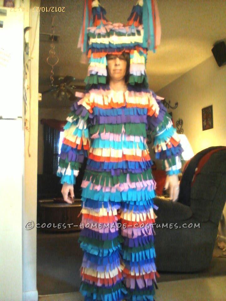 Disfraces Carnaval de goma eva, piñata humana