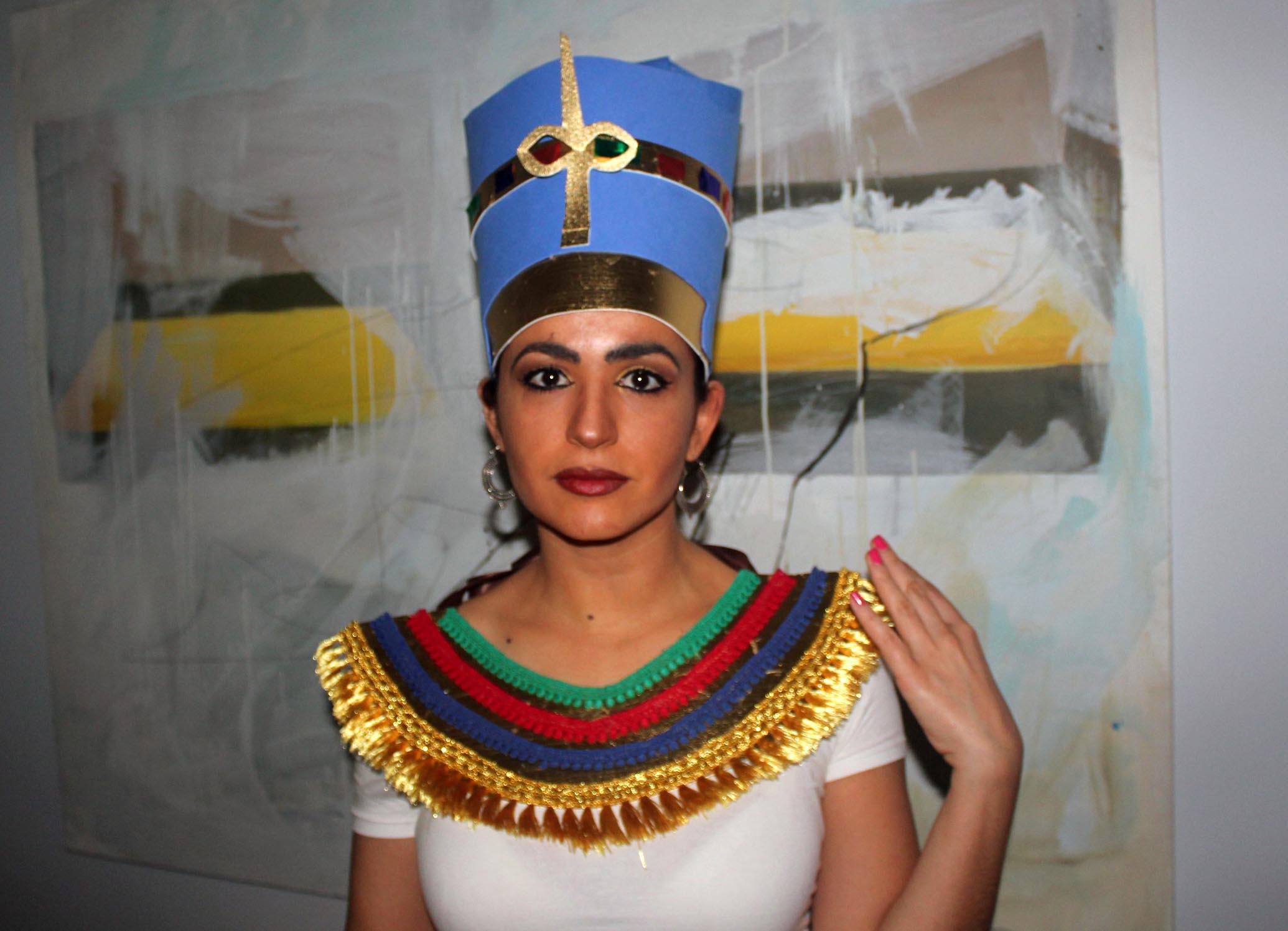 Disfraz Nefertiti goma eva