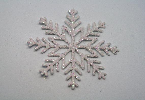 Copos Nieve Goma Eva Blancos 3 Manualidades Con Foamy