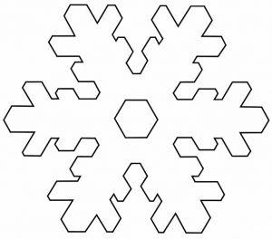 Patron Copo Nieve Imprimir Manualidades Con Foamy