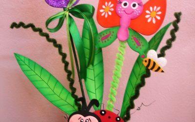 Flores De Foamy Para Ninos O Flores Con Termoformado Manualidades