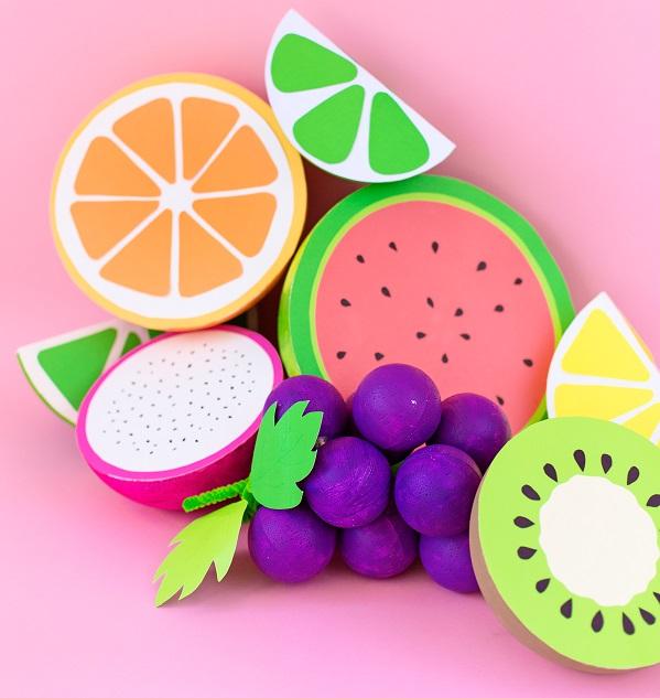 Fruta foamy 3D