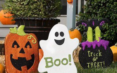 Decoraciones de Halloween para el Exterior de Casa hechas con Goma Eva