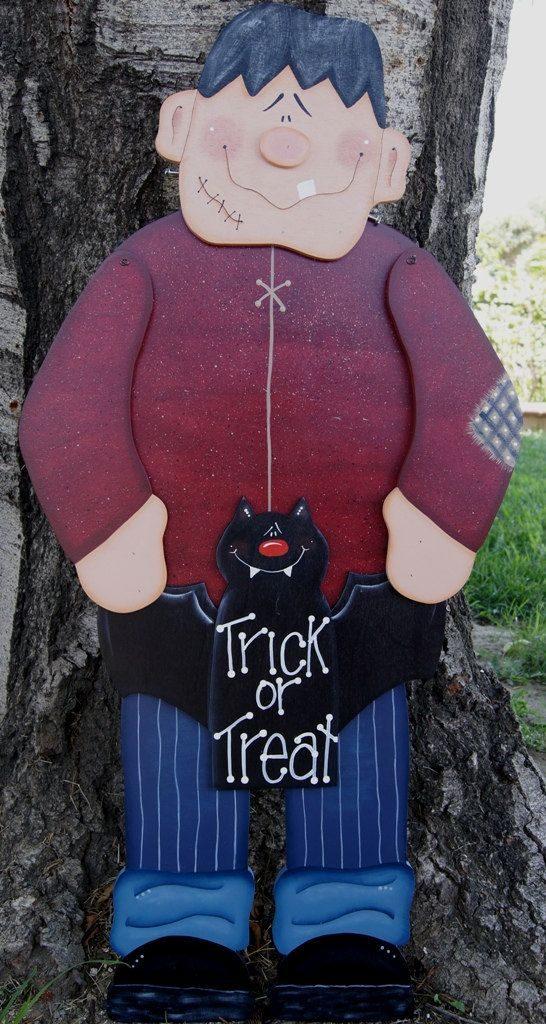 Decoración Halloween exterior de casa goma eva 5