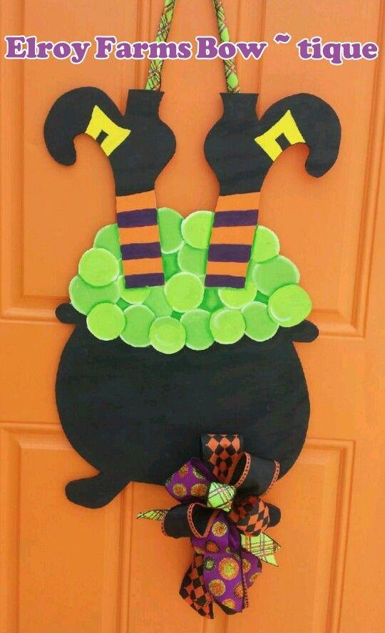 Decoración Halloween exterior de casa goma eva 6
